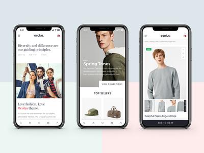 Ocolus-Multi Purposes Woocommerce Theme for Mobile