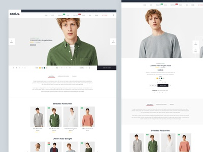 [Fullscreen Product] Ocolus Multi Purposes Woocommerce Theme