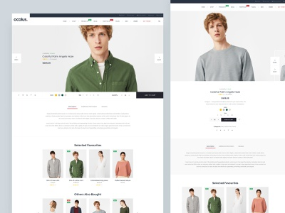 [Fullscreen Product] Ocolus Multi Purposes Woocommerce Theme hero area furniture theme forest theme for wordpress theme design woocomerce woocommerce theme wordpress development wordpress design plant design creative wordpress multipurpose minimal fashion typography ecommerce ux ui