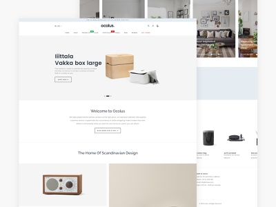 Ocolus Amazing E-Commerce Woocommerce Theme animation creative wordpress development creative  design wordpress design theme for wordpress theme design logo typography theme forest decor minimal multipurpose wordpress ocolus furniture ux design ecommerce ui