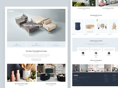 Ocolus Multi Purposes Woocommerce Theme slider wordpress development design vector creative  design wordpress design theme design theme for wordpress theme forest decor ocolus creative wordpress furniture multipurpose minimal typography ecommerce ux ui
