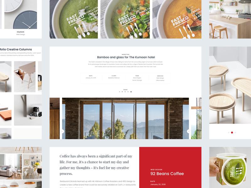 [Portfolio] Ocolus Multi purposes Woocommerce ocolus theme forest multipurpose minimal typography design wordpress ecommerce ui ux