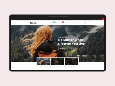 Ocolus - Amazing E-Commerce  WordPress Theme theme for wordpress creative fashion theme forest furniture minimal wordpress typography ecommerce multipurpose