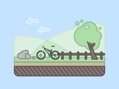 Windy Cycling