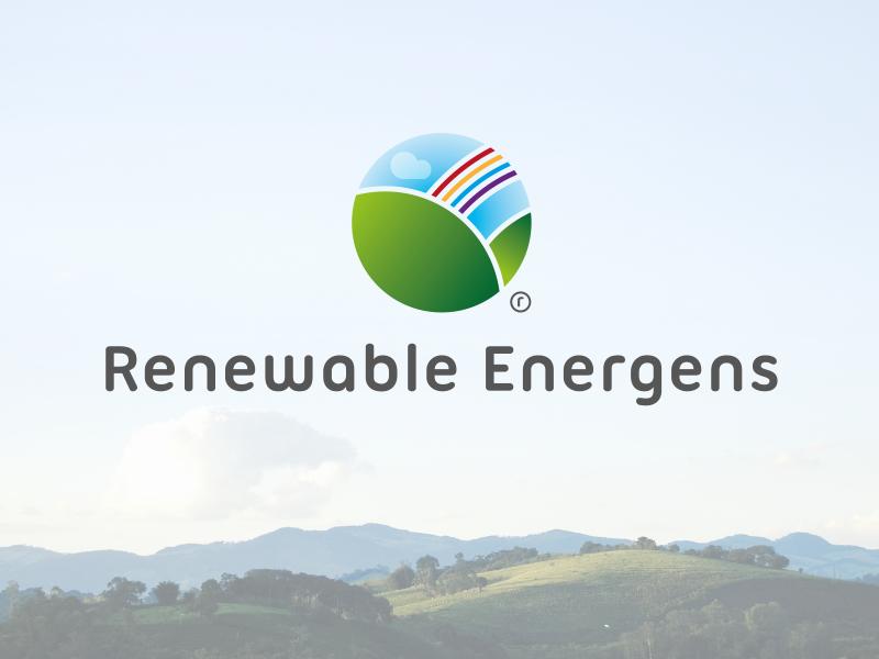 renewable energens logo design