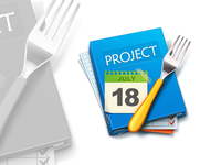 Fork Project Icon