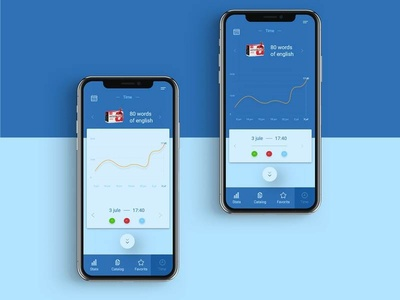App design + 1 dribbble invite