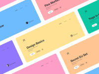 Event header palette color header event app morse