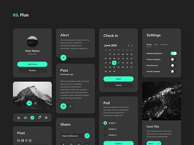 Dynamic UI Kit [freebie] freebie ux themes kit ui dynamic plugin xd adobe mockup quick