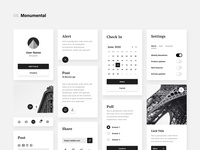 Dynamic UI Kit [freebie] freebie ux themes kit ui dynamic plugin xd adobe mockup quick