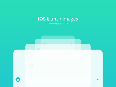 Freebie: iOS launch images