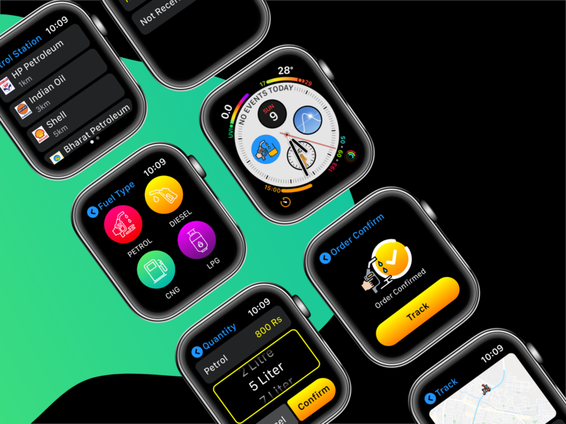 Watch IOS UI Design