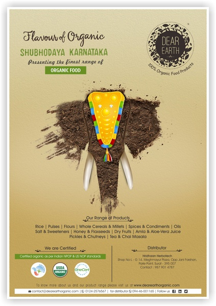 Flavours of Organic Poster