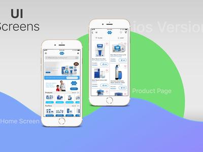 Bluemount water purifier App