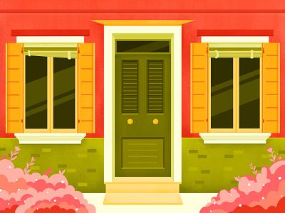 Brano design house brano flower art illustration