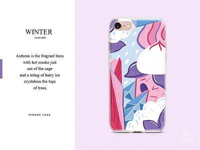 WINTER winter season art illustration