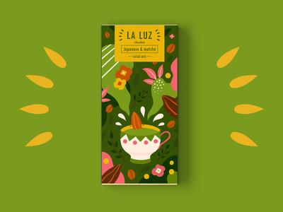 LA LUZ packagedesign01 ——matcha