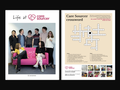 Life at Care Sourcer newspaper