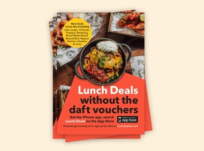 Lunch Deals without the daft vouchers