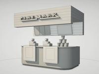 Cinemark Booth