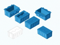 Isometric Crates