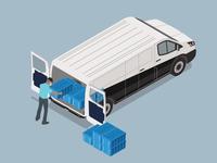 Isometric Van