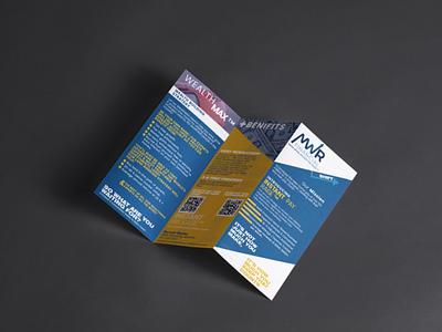 MWR Brochure design design typography graphics branding graphicdesgn marketing campaign