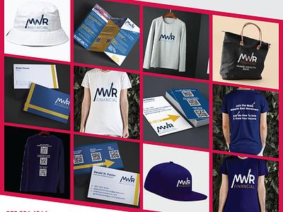 Branding done for MWR florida vector branding design typography marketing illustration magazine design branding graphics marketing campaign graphicdesgn