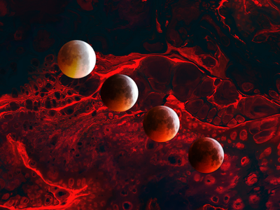 blood moon socialmedia graphics graphicdesgn photoshop practice moonlight moon design bloody blood