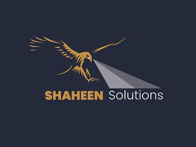 Shaheen solutions Logo design logo design creaive graphics illustration marketing campaign branding graphicdesgn