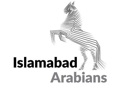 Islamabad Arabians Logo design concept logo concept creative marketing illustration branding graphics socialmedia graphicdesgn