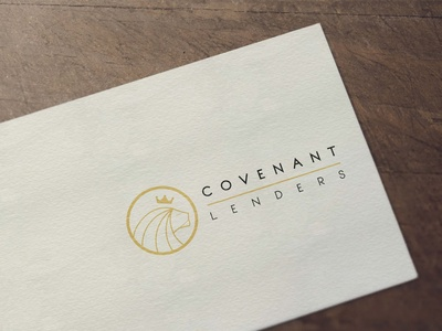 Covenant Lenders Logo design
