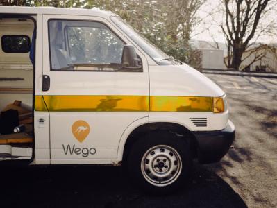 truck mockup for Wegogetit!