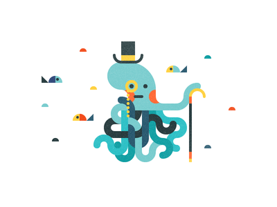 Mr. Octopus sea fish octopus