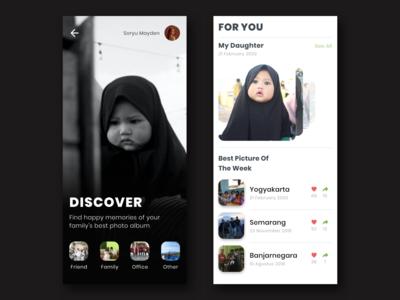 UI Design - Discover Photo