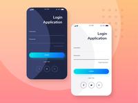UI Login Aplication