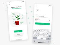 Home Buy's App UI