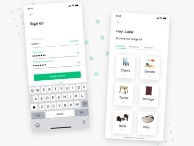 Home Buy's App UI - 2