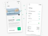 Home Buy's App UI - 3