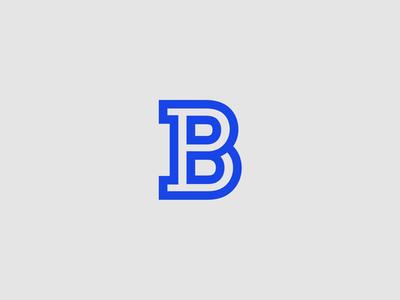 PB Monogram logo monogram