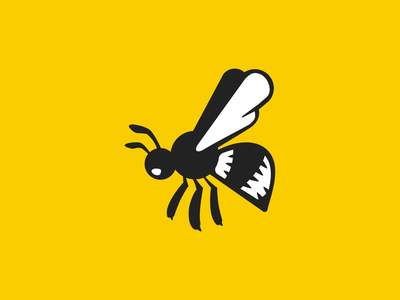 The Bee adobe illustrator drawing illustration