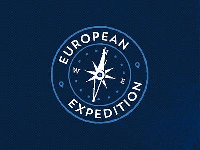 European Expedition branding illustration design logo adobe illustrator