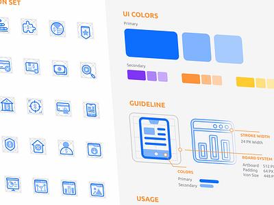 Icon Set Guideline typography logo ux icon design icon set design ui icon