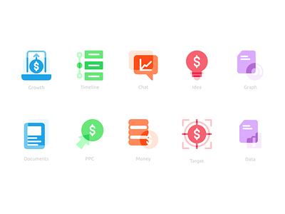 Minimal Flat Icon typography logotype button logo ux ui uiux interface userinterface user icon set design flat icon
