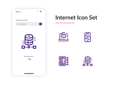 [Free] Internet Icon Set app