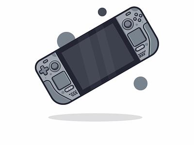 Steam Deck - Valve logo vector icon illustration steam game kid art set icon set design ux ui
