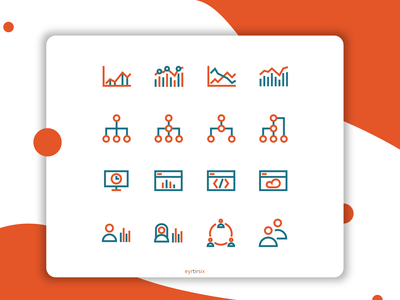 Business & Seo Icon set