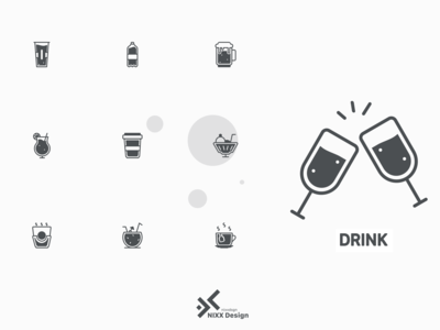 DRINK! icon set