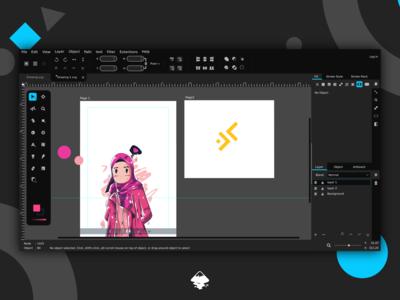 Inkscape UI Redesign Concept