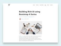 Blog Post - Daily UI #035